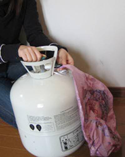 家庭用 ヘリウムガス