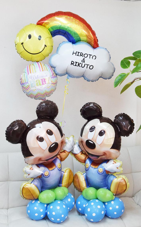 出産お祝い ミッキーミニー