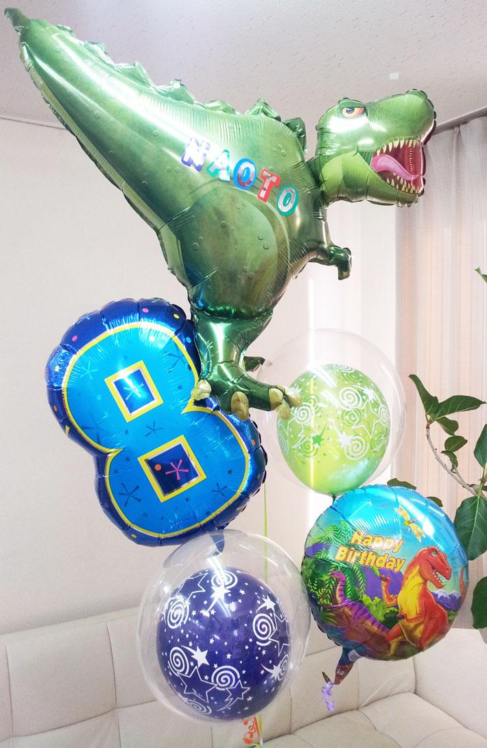 誕生日恐竜バルーン