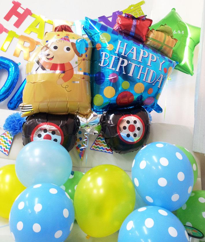 お誕生日バルーンおうち写真館