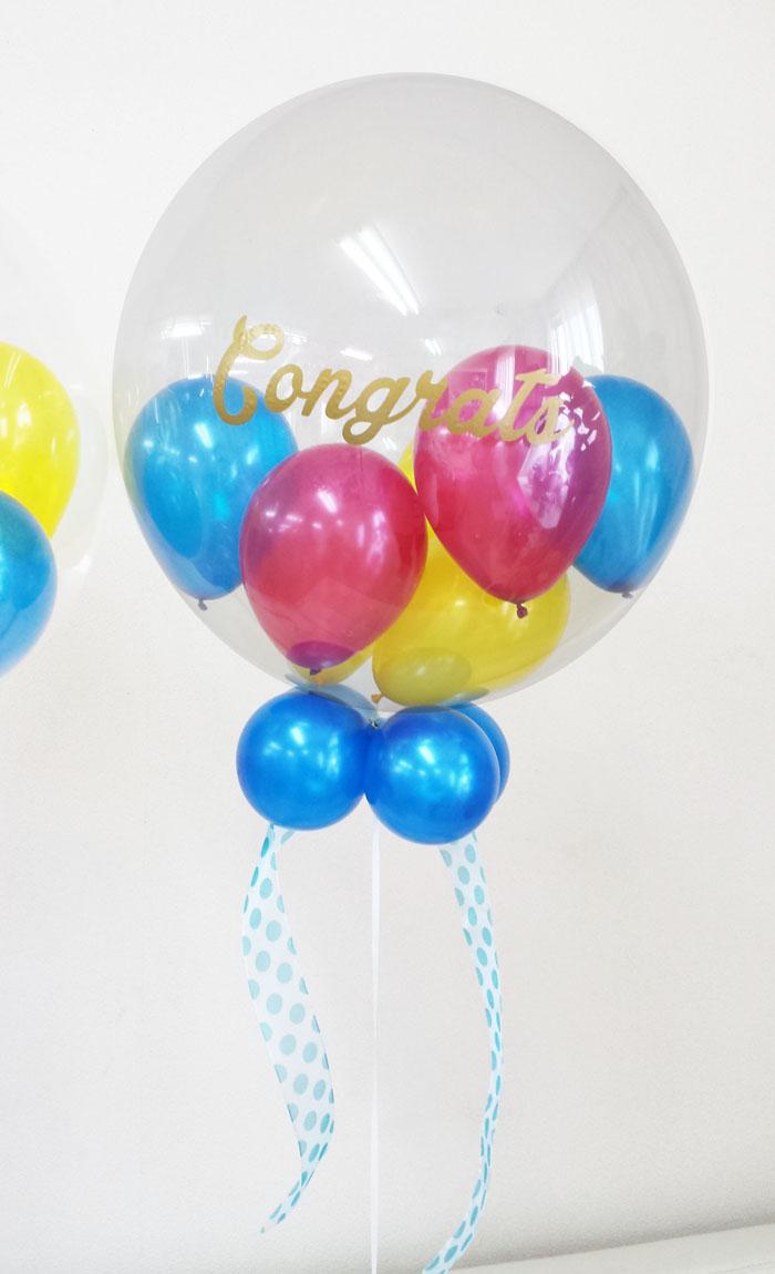バルーン電報 開院、開店、レセプションパーティのお祝い