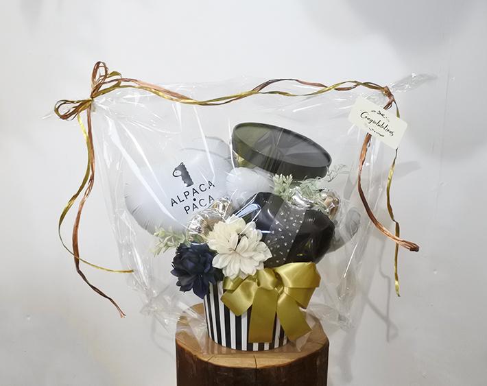 結婚祝い 飛び出るボックスアレンジ  レスポワール