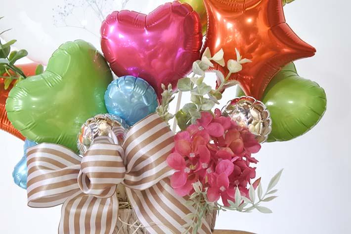 開店、開院、開業祝いのお花、バルーン
