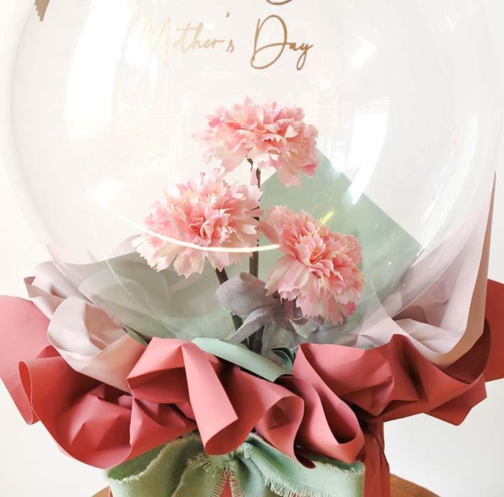 母の日プレゼント フラワーバルーン