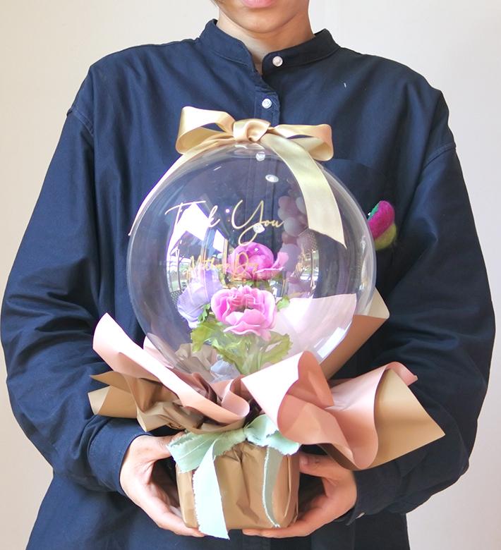 特別な日のプレゼント フラワーバルーン