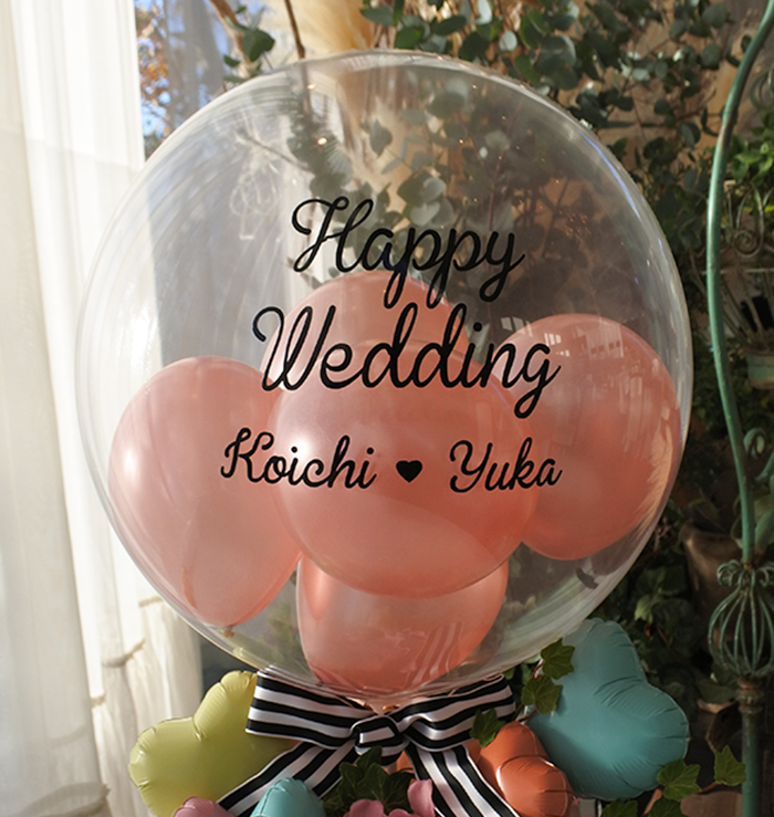 結婚式バルーン