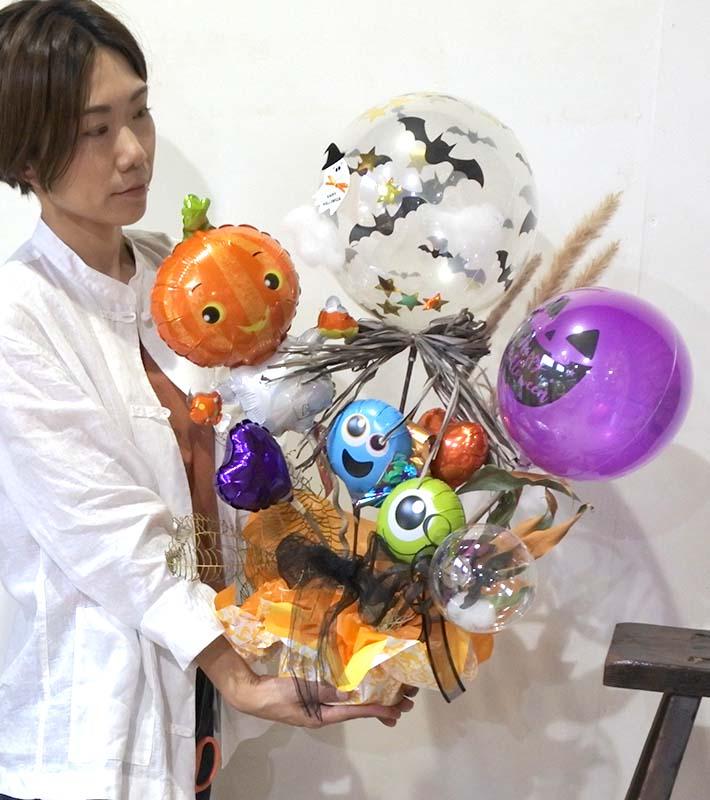 【バルーンアート オンライン・店舗 同時開催レッスン】ハロウィンアレンジ