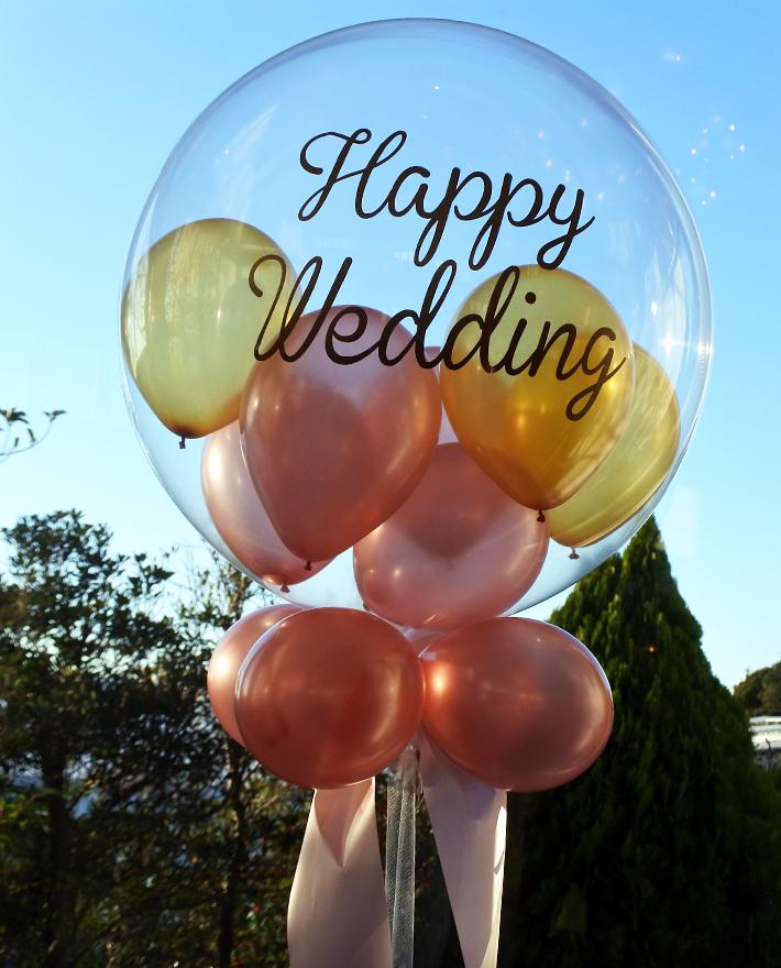 バルーン電報 結婚式バルーン