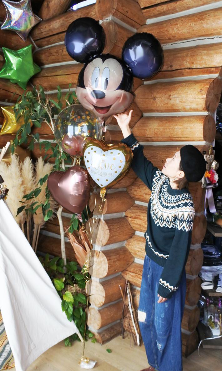結婚式ミッキーミニーバルーン
